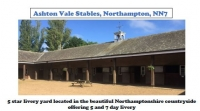Ashton Vale Stables Northampton **Spaces Available**