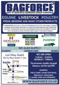 Bagforce Equine, Livestock & Poultry Products